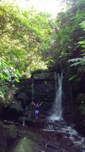 大見謝川の上流には滝があるかな?