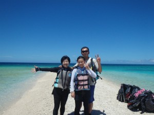 夏休みは家族旅行だ〜!
