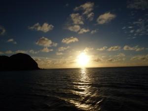 綺麗な夕日を見たい