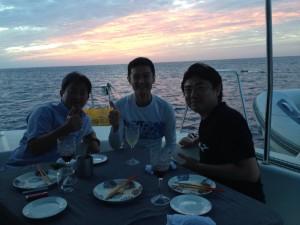 西表島で男子会~☆