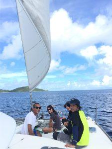 西表島ブルーを求めて満員御礼のヨットクルージング