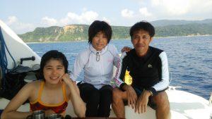 海の中にて運動会☆