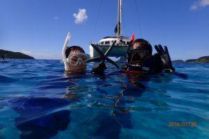 西表島の海は最高や!