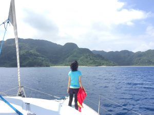 沖縄旅行6年連続快晴記録保持者様、西表島にも晴れを。