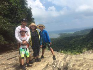 滝つぼジャンプにハマリ中~☆@西表島