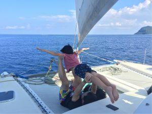 夏休みはお父さんが楽しむことに意味がある、西表島。