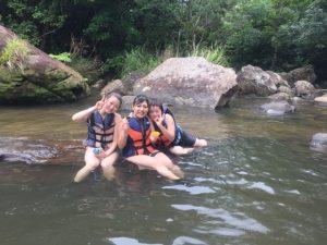 水量バッチリサンガラの滝tour