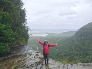 滝の水が全部そうめんだったら、西表島。