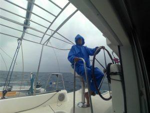 ヨット整備@石垣島