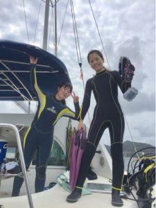 小梅ちゃんの恋の行方とかダイビングとか、西表島。