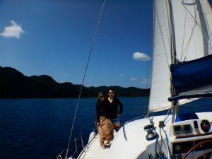 AM、PM 1人でヨット