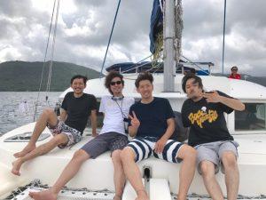 男7人夏物語、西表島。