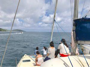 貫禄の八重山パーリピーポー、西表島。