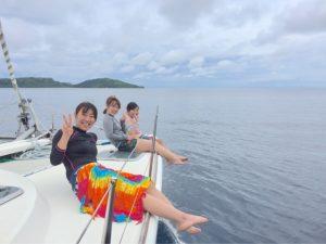 女性にやさしいお天気の神様、西表島。