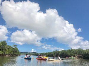 この暑さを夏というのだろう、西表島。