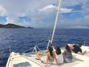 100%晴れ女、自称モアナ、西表島。