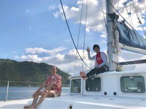 オススメした10月に台風来ちゃうんかい、西表島。