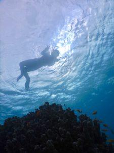 はじめての海2018、西表島。