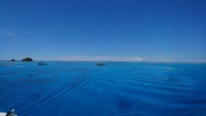 空も青けりゃ海も青い!