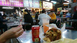 台湾で食べ過ぎて体重い