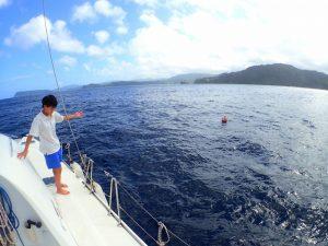 海へトレーニングに
