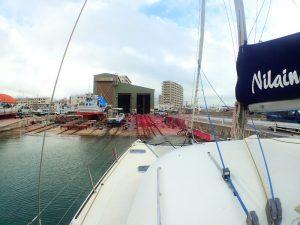 ヨット整備の為石垣へ