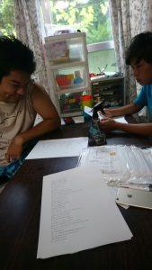 英語のお勉強