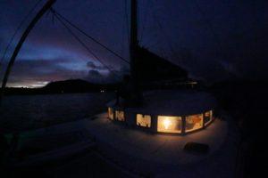 クルージング初日、多良間島へ