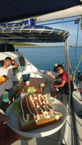 クルージング二日目、水納島へ